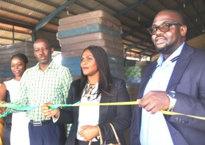 Pic 2 – Mrs. Amaka Okafor, General Manager, Mouka Lifestyle Store, Garki, Abuja, Mr. Femi Fapohunda, Acting Managing Director, Mouka Limited, Dr. Mrs. Azuka Onya, Chief Financial Officer, Mouka Limited and Mr. Olusegun Ajala, Marketing Manager, Mouka Limited at the opening of the new Lifestyle Store and Depot in Abuja recently.