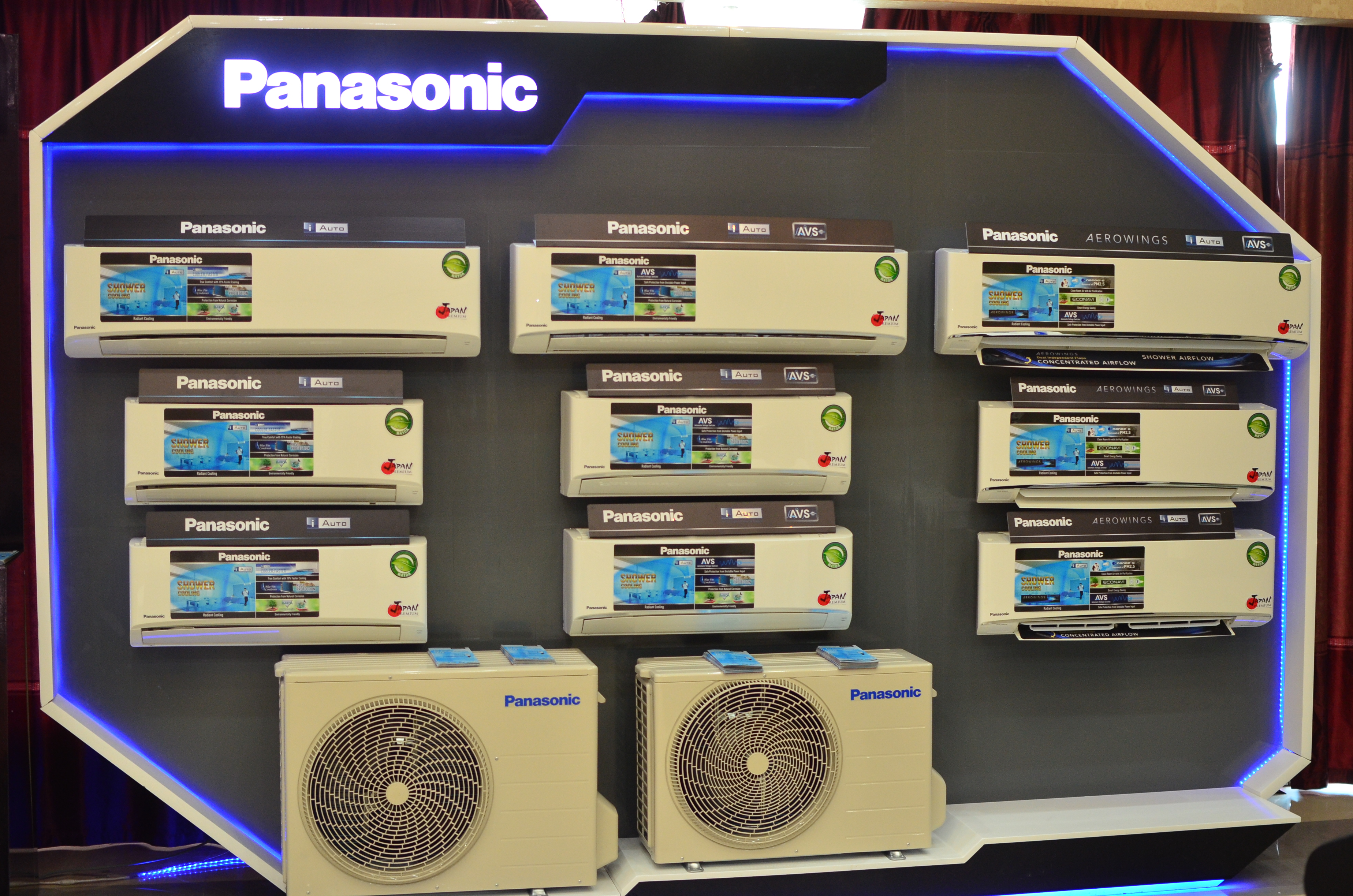 Panasonic Launches New Shower Cooling Aerowings Air